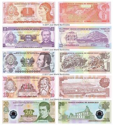 10 Malawi 5 50 100 Kwacha 2005-11 Set of 5 Banknotes 5 PCS UNC 20