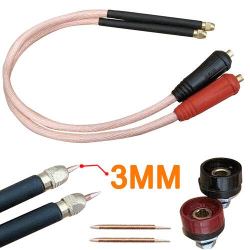 1 set 25 square DIY Spot Welder Copper 18650 Handheld Spot Welding Pen Kit 60cm