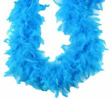Turquoise  Kelly Green Hackle 72/'/' Chandelle Feather Boa
