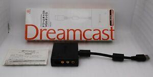 Sega-DreamCast-VGA-BOX-w-BOX-Japan-import-DC-HKT-8100-TV-PC-Switching-System