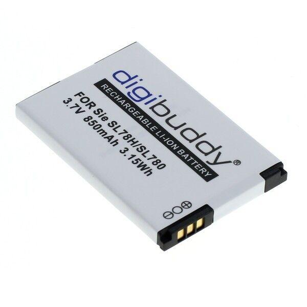 digibuddy Akku kompatibel zu Siemens Gigaset SL78H / SL780 / SL785 / SL788