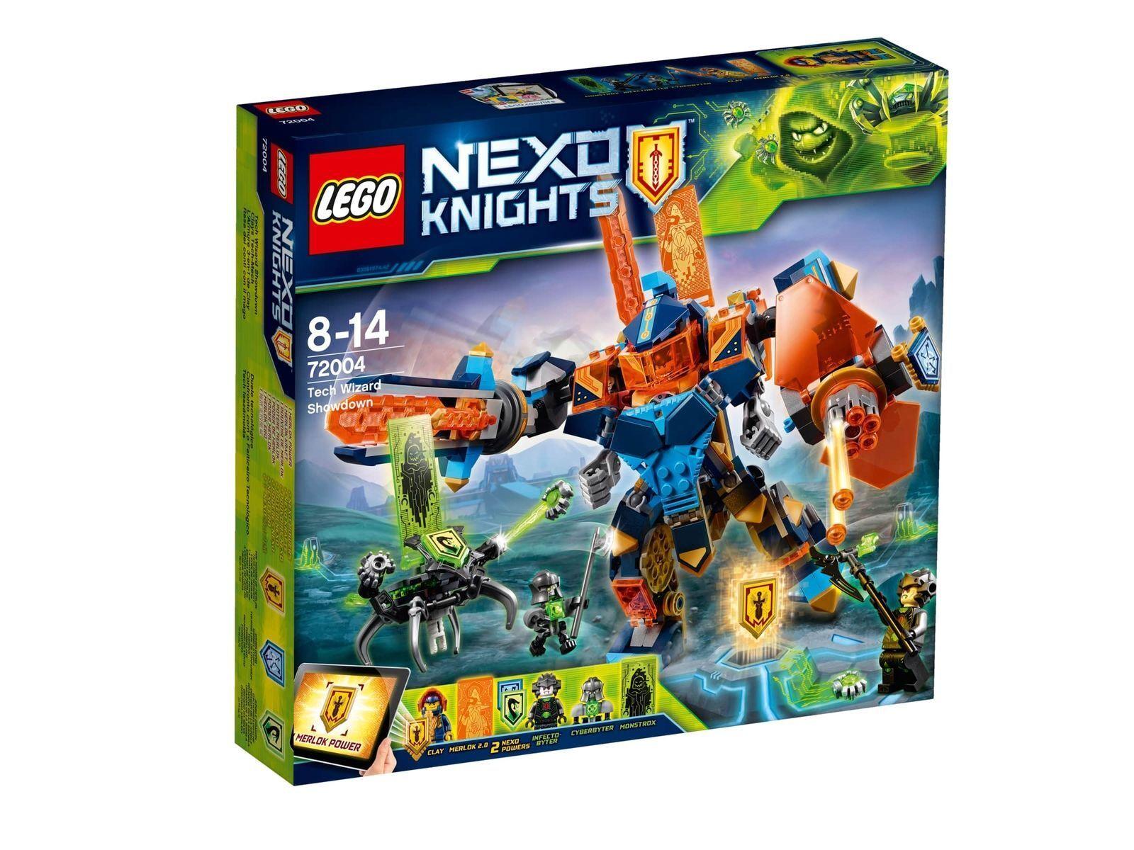 LEGO NEXO KNIGHTS Clays Tech-Mech 72004 NEU OVP OVP OVP 6486ff