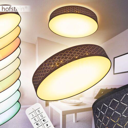 Design LED Leuchten Büro Dielen Schlaf Wohn Raum Textil Fernbedienung dimmbar