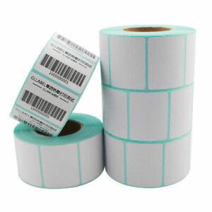 1100Pcs-30x20mm-Blank-White-Thermal-Labels-Rolls-Self-Adhensive-Sticker