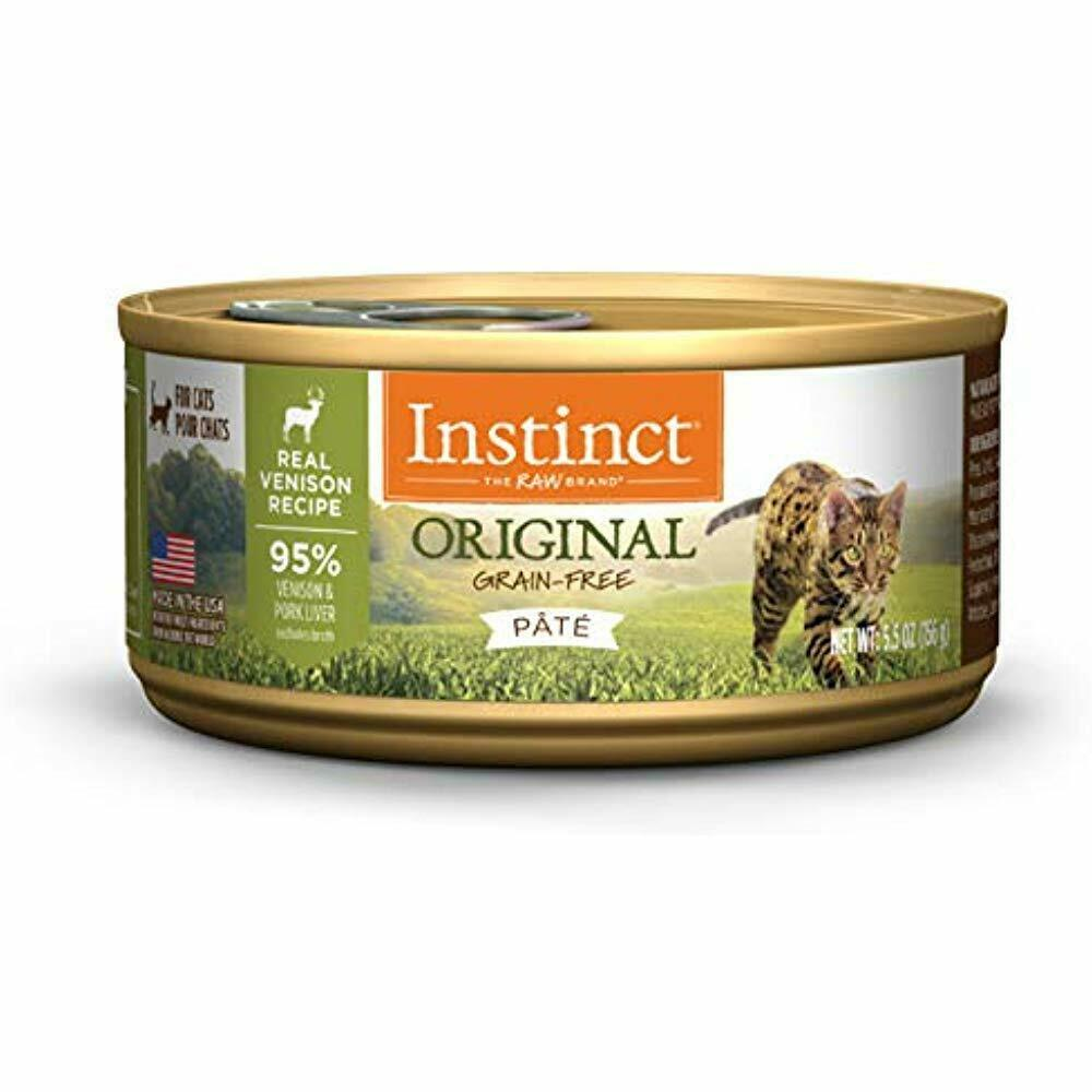 SALE Original Grain Free Real Venison Recipe Natural Wet Canned Cat Food By 5.5