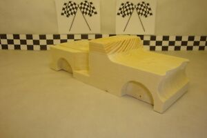 Image Is Loading Pinewood Derby Pre Cut 57 Chevy Pick Up