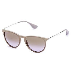 0b9fda6777 Ray-Ban Erika Classic Sunglasses 54mm (Brown Silver   Brown Violet ...