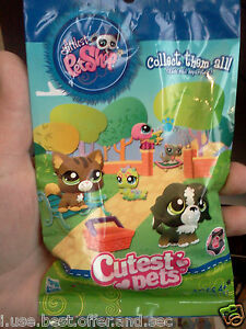 Lot 2 X3 Blind Bag Lps Cutest Pets Retired Semi Hard To