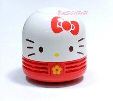 Sanrio Hello Kitty Mini Vacuum Cleaner Desktop Laptop Keyboard Desk Dust Decor