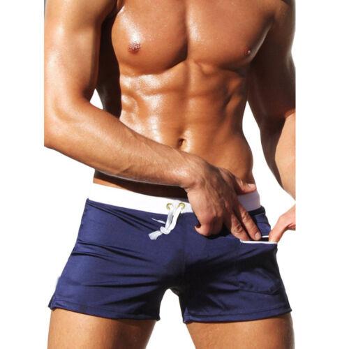 Men/'s Beach Vacation Swim Trunks Zip Pocket Swimwear Board Shorts Surfing Pants