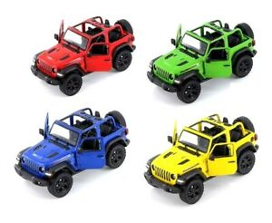 2018 Jeep Wrangler rubicon 1:34 Diecast Model Toy Car Convertible 7 Colors