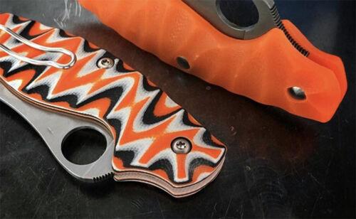 G10 Poignée de Couteau matériel échelle Micarta épée dalles Supply À faire soi-même Bush Lame Making