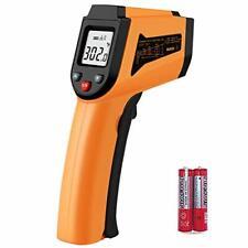 Laser Infrared Thermometer Non Contact Digital Temperature Gun 50c To Orange