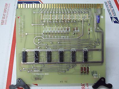 Honeywell 14500106-001 Circuit Board Function Card 14500105-001