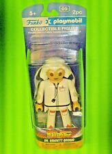 BACK TO THE FUTURE - Doctor Emmett Brown /Collectible Funko Playmobil Figure