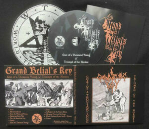 GRAND BELIAL'S KEY - goat of a thousand young / triumph of the hordes - DIGICD