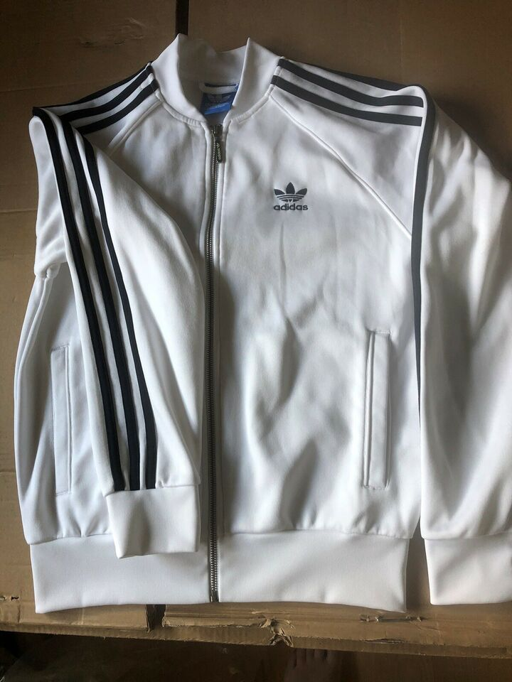 Trøje, Sweatshirt med lynlås, Adidas