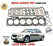 FOR LEXUS IS200 2.0 1/1999-12/2005 NEW CYLINDER HEAD GASKET SET ** OE QUALITY **