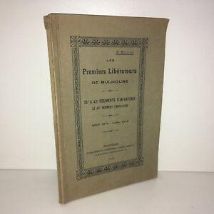 WW1-Noury-LES-PREMIERS-LIBERATEURS-DE-MULHOUSE-35-42-47-RI-1919-Alsace-BA69B