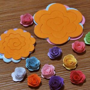 Template Clipbook Flower Quilling Rolling Paper Crafts Kit Mould DIY Tools