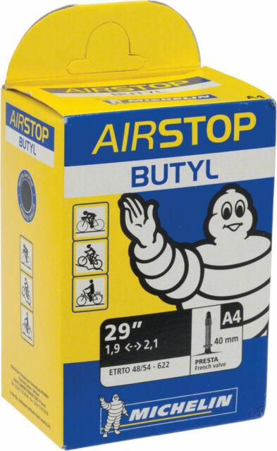 "2x Michelin A4 Airstop MTB Inner Tube 30mm Presta 29/"" x 1.95-2.5/"""