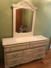 Item 4 White 7 Drawer Dresser With Mirror