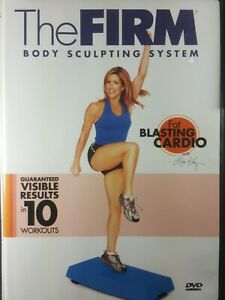 The FIRM Body Sculpting System Fat Blasting Cardio Lisa Kay DVD
