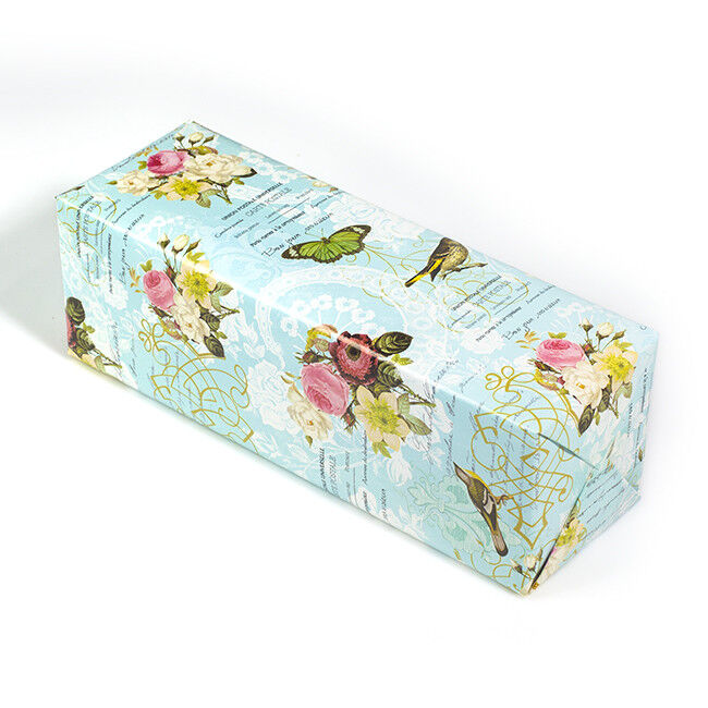 """ASSORTED PRINT WAXED Tissue Paper Floral Bouquet Wrapping 24/""""x36/"""" X-Lg Sheets"""