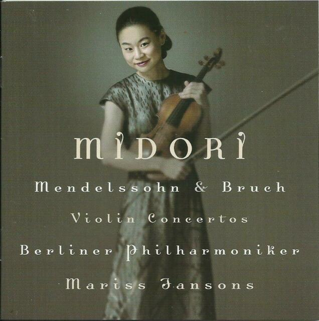 CD neuwertig Mendelssohn Bruch Violinkonzerte, Midori BP Mariss Jansons (2003)