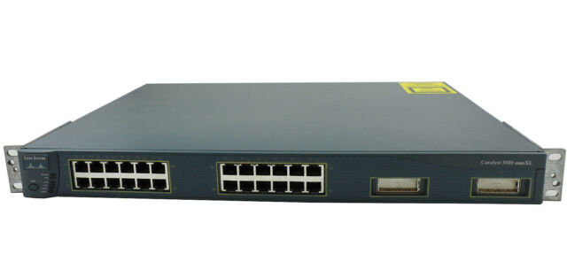 Cisco 3500 Series XL WS-C3524-XL-EN 24-Ports Switch