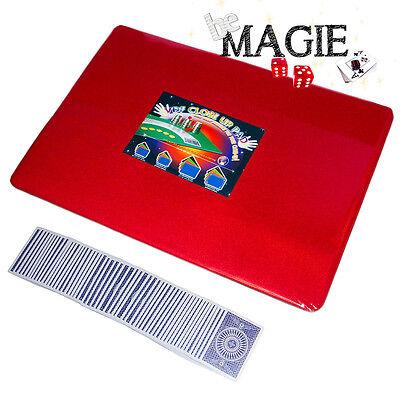 Tapis de magie NOIR 58 x 40 cm Qualité VDF Motif 4 As