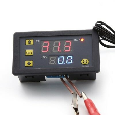 12V 10A  LCD Digital Temperature Controller Temp Sensor Thermostat Control Relay