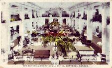 THE ROTUNDA - MOUNT ROYAL HOTEL, MONTREAL QUEBEC CANADA 1930
