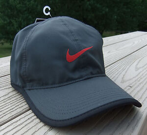 548a728bbf NWT NIKE Dri-Fit Featherlight Adult Adj Tennis/Running Hat-OSFM DARK ...