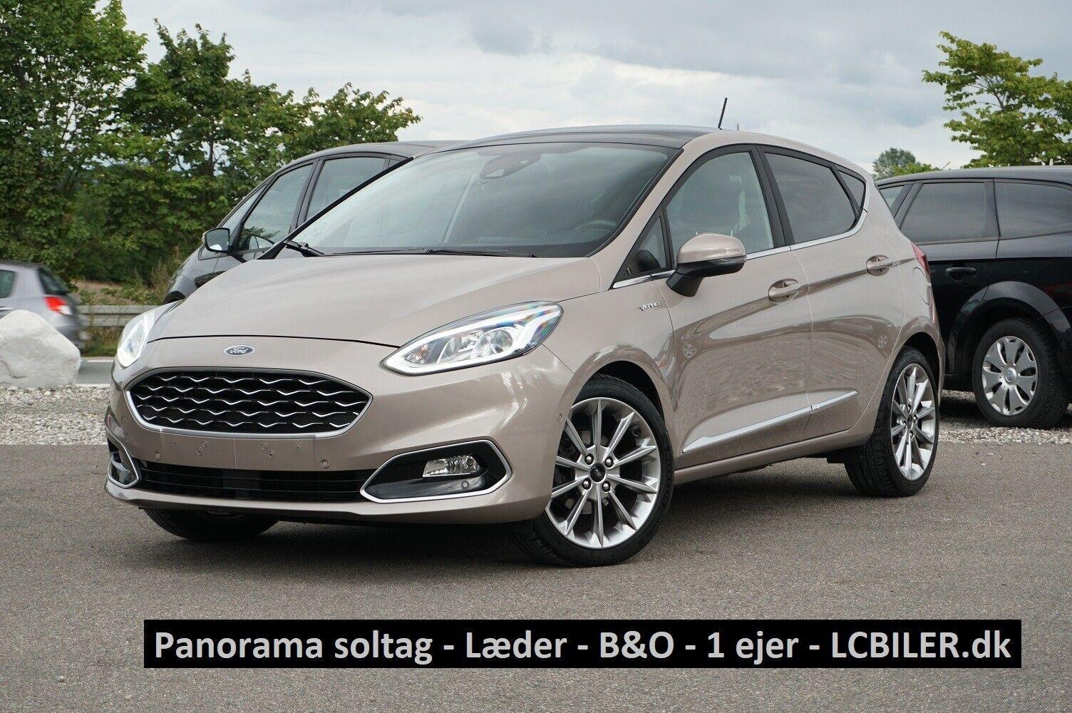 Ford Fiesta 1,0 EcoBoost Vignale 5d - 179.990 kr.