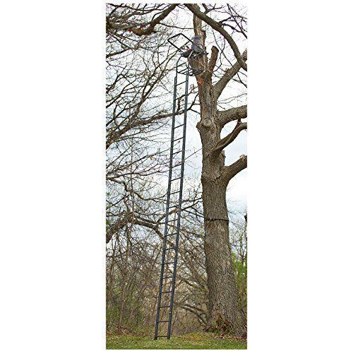 Shake Free Sturdy Steel Deluxe Double Rail Ladder Tree