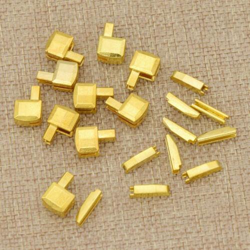 10Sets 8# Metal Zipper Stopper Open End Sewing Tailor Repair Tool Acessories DIY