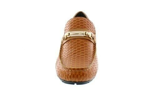 TOTO H3216 - 2.2 Inches Inches Inches Elevator Height Increase Moc-Toe Pelle Woven Slip On 938cf3