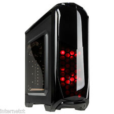 Kolink AVIATORE NERO USB 3.0 Gaming TOWER CASE Tool FREE LED ATX MATX MINI ITX
