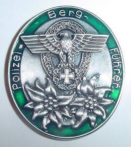 Pin Abzeichen Polizei Berg Führer ...........P8329