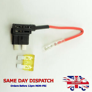 2 x ajouter un circuit fuse tap piggy back lame fusible titulaires