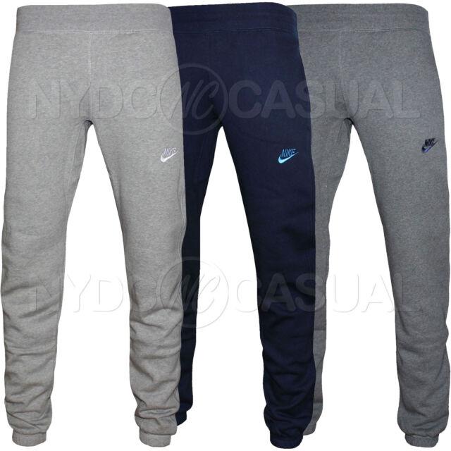 Homme Nike Polaire Survêtement, Survêtement Pantalon, sweat Pantalons de Jogging S M L XL