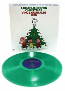 Vince-Guaraldi-Trio-A-Charlie-Brown-Christmas-New-Sealed-Green-Vinyl