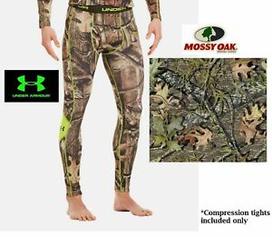 7ebf5983bdab7 UNDER ARMOUR Men's EVO SCENT CONTROL HUNTING BASE LAYER CAMO PANT ...