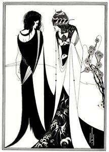 Salome by Aubrey Beardsley Vintage Art Nouveau Poster