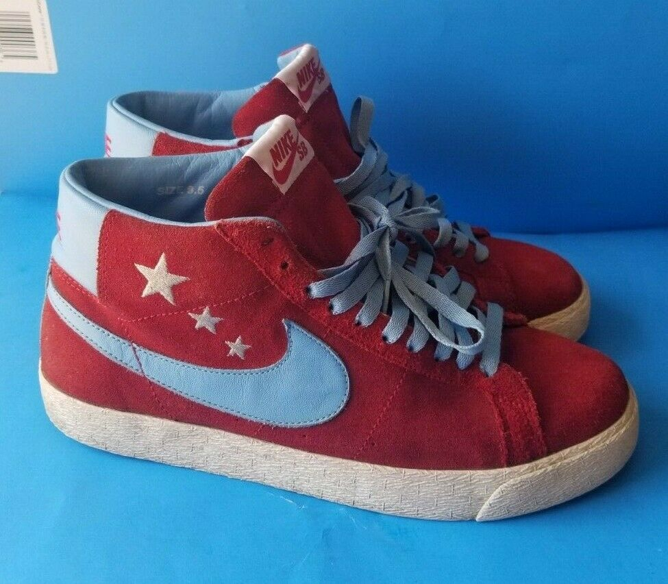 Nike SB Blazer Vanilla Ice Size 9.5 314070-641  Premium SB Blazers (Rare) SWOOSH