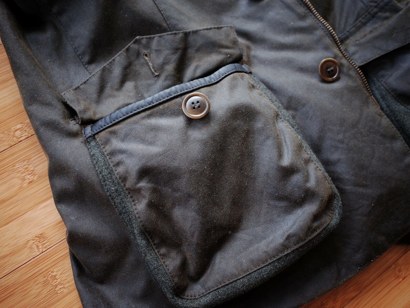 Barbour Dalkeith Wax Jacket – (size Small)  - image 5