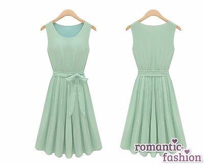 💕Grünes Abendkleid, Sommerkleid, Kleid Party +NEU+SOFORT+B357💕