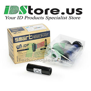 Details about NEW IDP 650653 Black (K) Monochrome Ribbon Kit - 1200 Prints  ***Free Shipping***