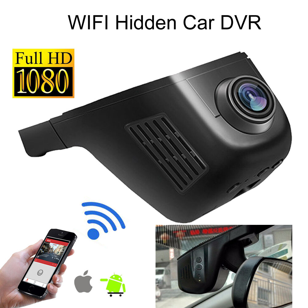 Wifi Car Dvr 1080p Fhd Night Vision Dash Cam Recorder With Rear Directv Genie Wireless Internet Connection Diagram Hidden Camera G Sensor Plus